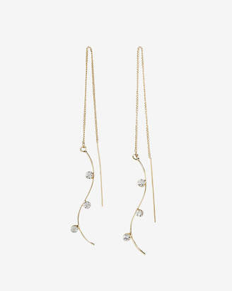 Express Curved Threader Earrings