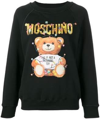 Moschino toy logo sweatshirt
