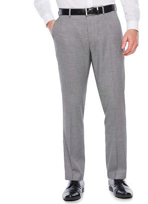 Jf J.Ferrar Black White Super Slim Fit Crop Tuxedo Pants