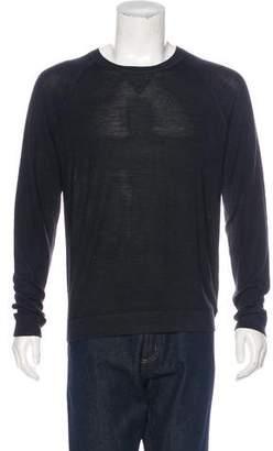 Vince Silk & Wool Crew Neck Sweater