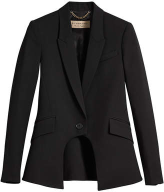 Burberry tailored riding jacket