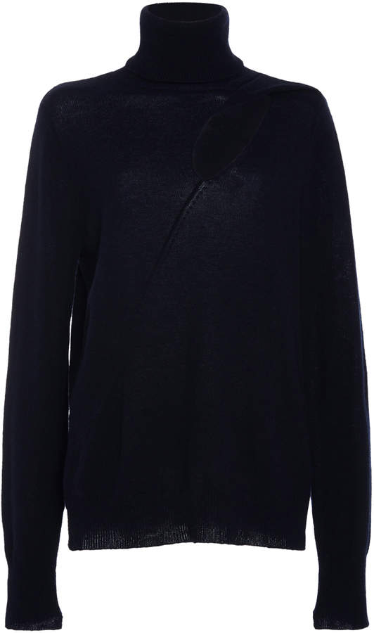 A.L.C.A.L.C. Billy Cutout Turtleneck Sweater