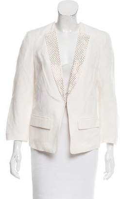 Rebecca Taylor Studded Silk-Blend Blazer