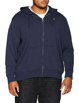 Levi's Big and Tall Men's Classic Hm Zip Up Big Plain Regular Fit Long Sleeve Hoodie