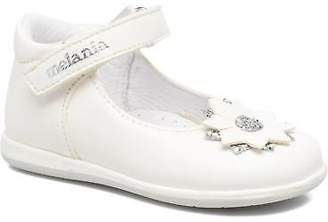 Melania Kids's Elsa Ballet Pumps In White - Size Uk 5.5 Infant / Eu 22