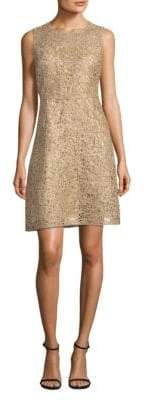 Elie Tahari Sleeveless Lace Mini Dress