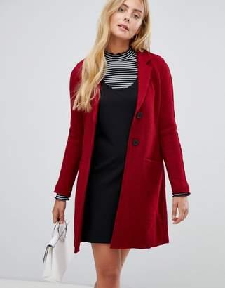 Only Ella Wool Blend Slim Coat