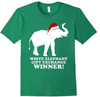 White Elephant Gift Exchange WINNER! Santa Hat T-Shirt