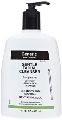 Cetaphil Generic Value Products Gentle Facial Cleanser Compare to Gentle Skin Cleanser