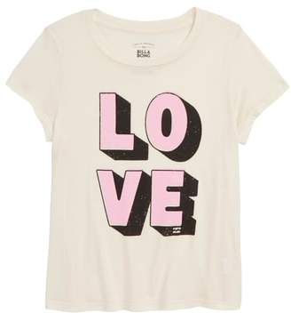 Billabong Love Graphic Tee
