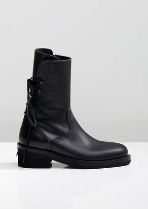 Ann Demeulemeester Heeled Leather Ankle Boots