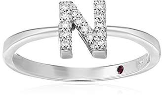 Roberto Coin Women's 001634AWLRXN Diamond Initial Ring