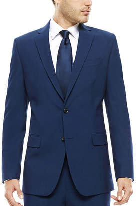 Jf J.Ferrar JF Blue Stretch Suit Jacket - Classic Fit