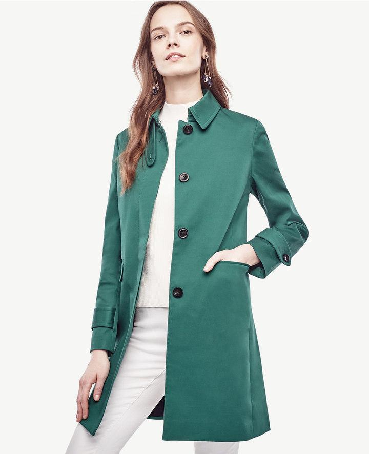 Ann TaylorDoublecloth Tab Collar Jacket