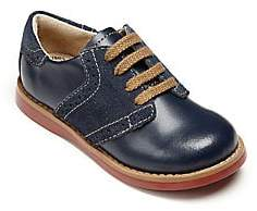 FootMates Baby's, Little Boy's & Boy's Connor Leather Oxford Saddle Shoes