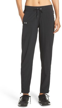 Women's Under Armour 'Run True' Water Resistant Pants $74.99 thestylecure.com