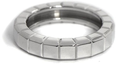 Chopard Chopard 750 White Gold Ice Cube Ring Size 5.25