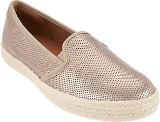 Clarks Suede Slip-on Espadrilles -Azella Theoni