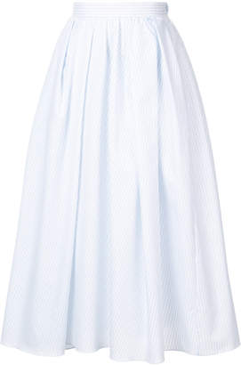 ADAM by Adam Lippes mid-length pleated skirt