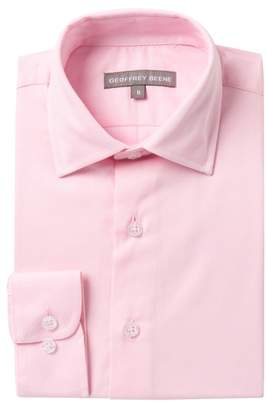 Geoffrey Beene Solid Dress Shirt (Big Boys)