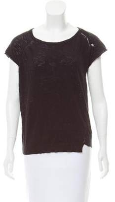 Zadig & Voltaire Knit Scoop Neck Top