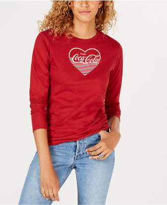 Freeze 24-7 Juniors' Coca-Cola-Graphic Cotton T-Shirt