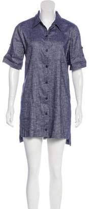 Theory Mini Shirt Dress