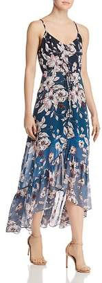 Nanette Lepore nanette Ombré Floral High/Low Dress