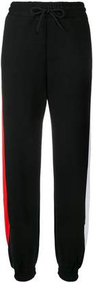 MSGM 'arrow' track pants