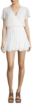 Trixxi Short Sleeve Romper-Juniors