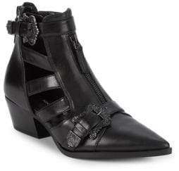 Nine West Carrillo Open Panel Booties