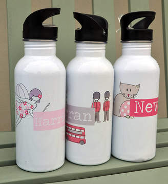 Pear-Derbyshire Personalised Drinks Bottle For Girls