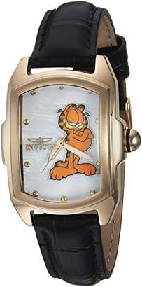 Invicta Women's 'Character Collection' Quartz Stainless Steel and Leather Casual Watch