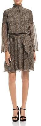 MICHAEL Michael Kors Printed Mock Neck Dress - 100% Exclusive