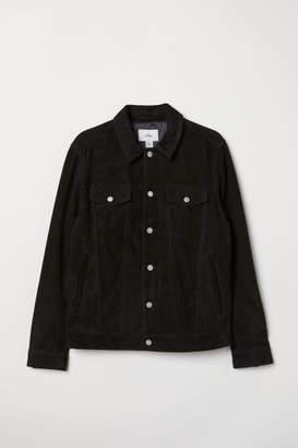 H&M Suede Jacket - Black
