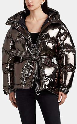 IENKI IENKI Women's Michelin Metallic Down-Quilted Puffer Jacket - Gray