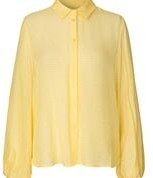 Felina Levete Room yellow silk mix blouse - XS - Yellow