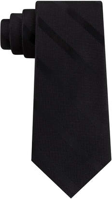 Tommy Hilfiger Men Textured Stripe Silk Tie