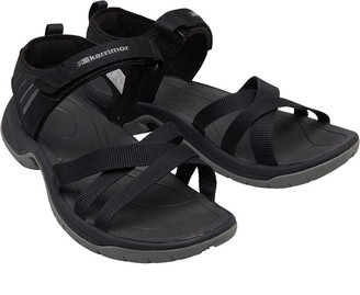 25731a7bf Karrimor Womens Ballena Strappy Webbing Sandals Black