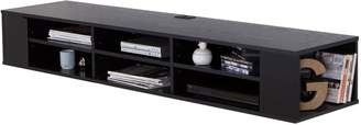 South Shore City Life 66-Inch Wide Wall Mounted Media Console