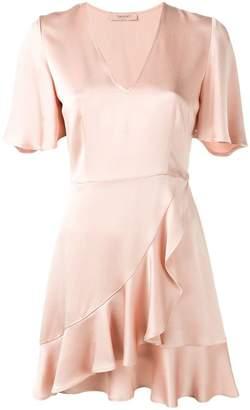 Twin-Set ruffle mini dress