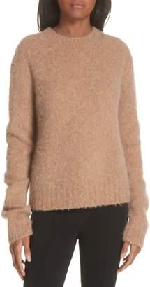 Helmut Lang Brushed Wool & Alpaca Blend Sweater