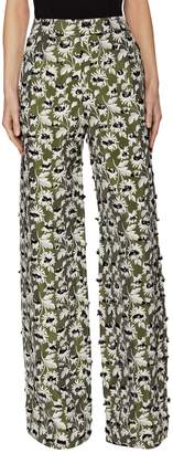 Balenciaga Women's Printed High-Waisted Pant