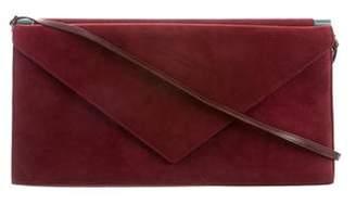 Giuseppe Zanotti Leather-Trimmed Suede Bag