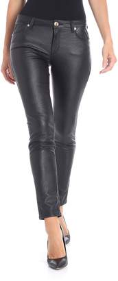 Trussardi Faux Leather Trousers