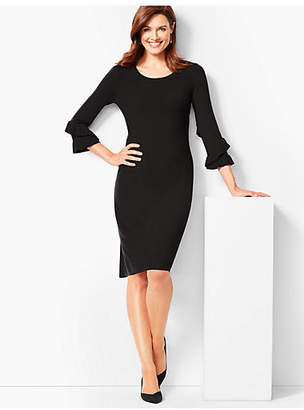 Talbots Three-Quarter-Sleeve Sweater Dress