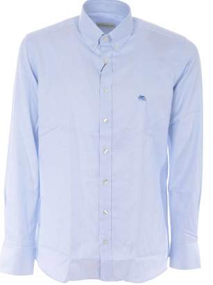 Etro Embroidered Logo Shirt