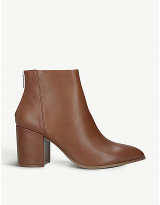 Steve Madden Jillian leather ankle boots