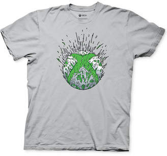 Ripple Junction X-Box Spray Logo Men Graphic T-Shirt
