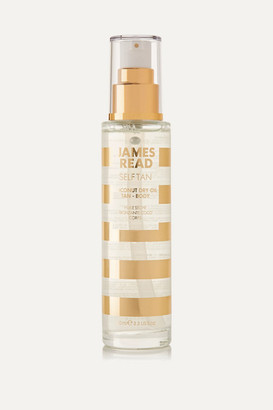 James Read - Coconut Dry Oil Tan Body, 100ml - Colorless